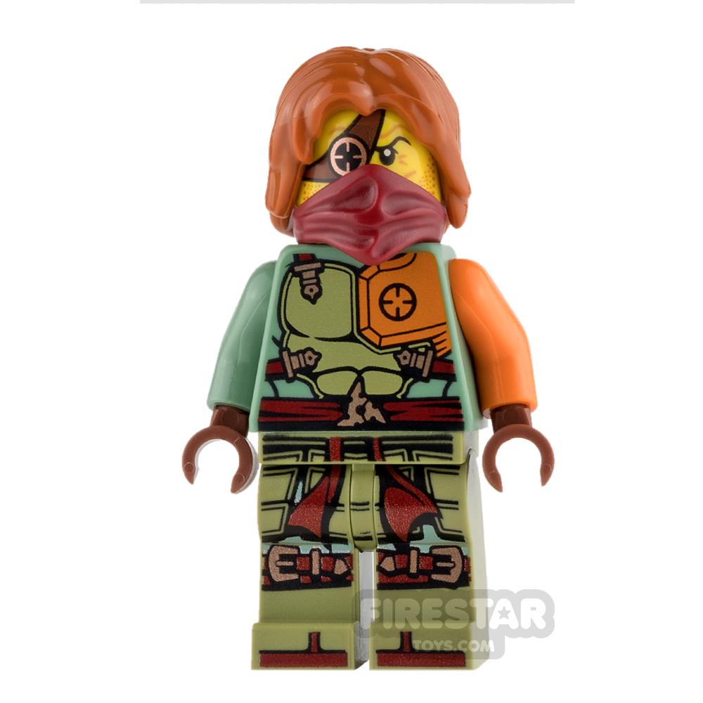 LEGO Ninjago Mini Figure - Ronin with Hair