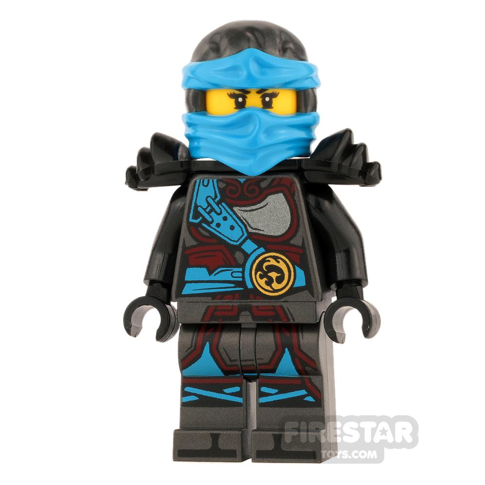 LEGO Ninjago Mini Figure - Nya - Hands of Time - Dual Sided Head