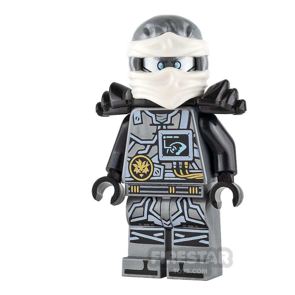 LEGO Ninjago Mini Figure - Zane - Hands of Time - with Armour