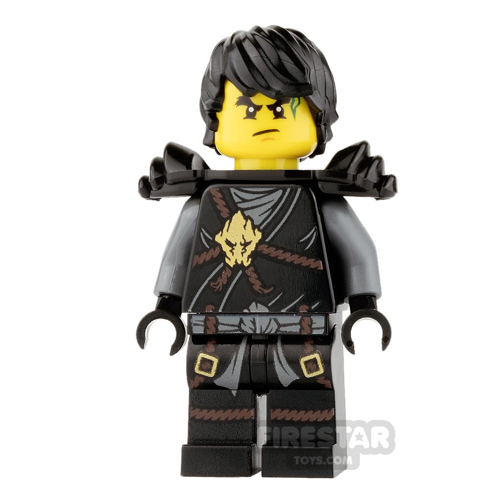 LEGO Ninjago Mini Figure - Cole - Scabbard and Hair