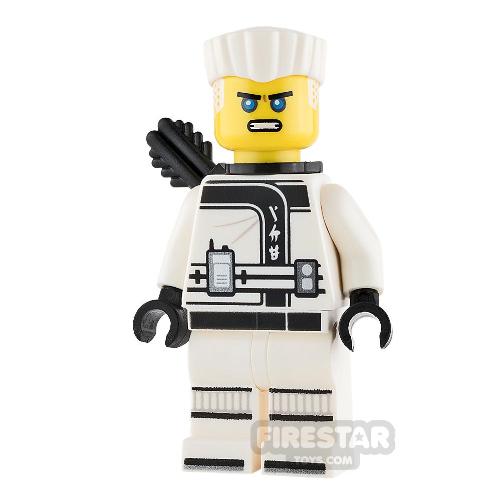 LEGO Ninjago Mini Figure - Zane - Hair and Quiver