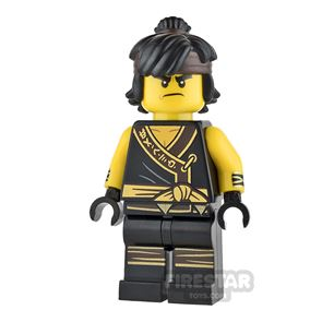 LEGO Ninjago Mini Figure - Cole - Arms with Cuffs and Hair