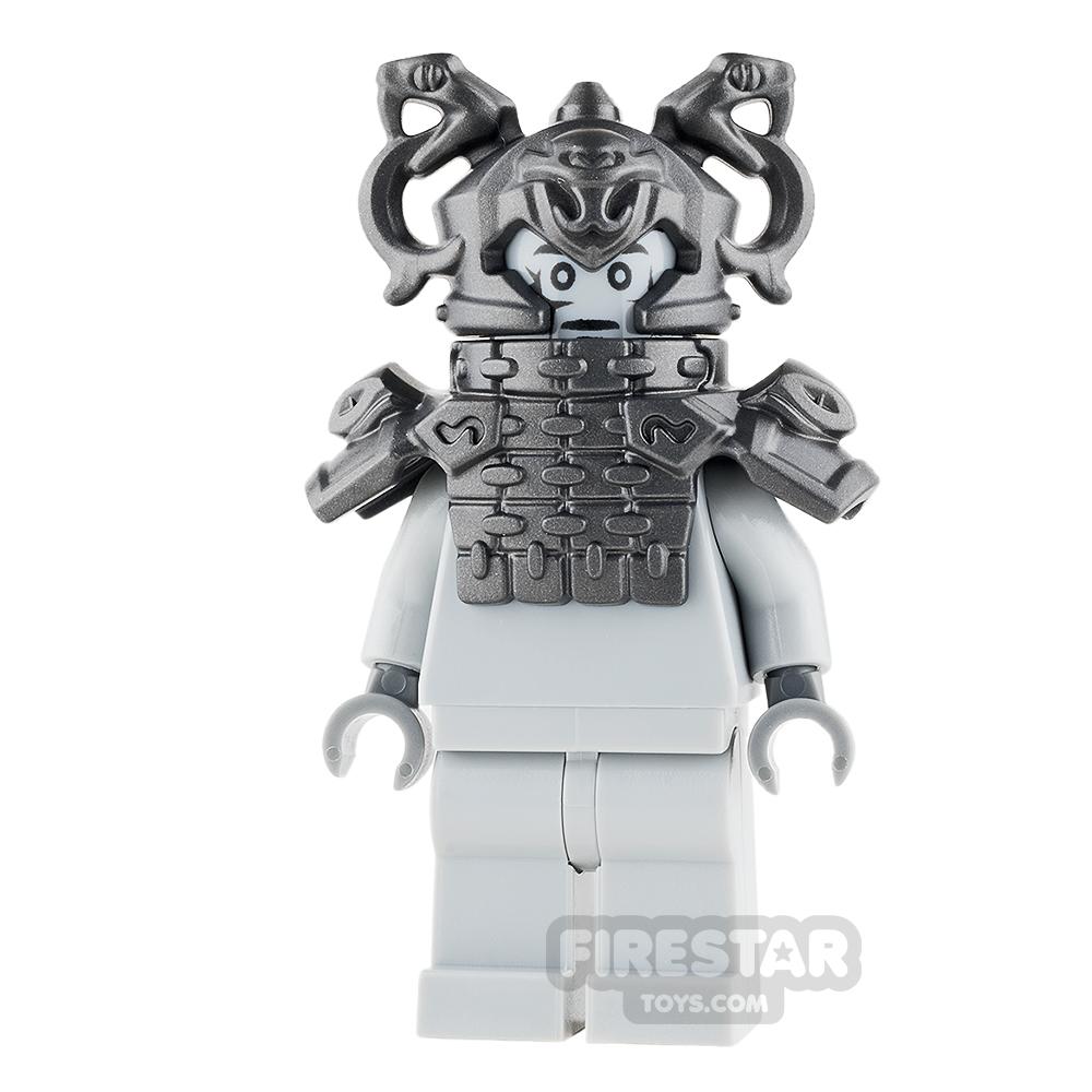 LEGO Ninjago Mini Figure - Stone Snake - Temple Guardian Statue