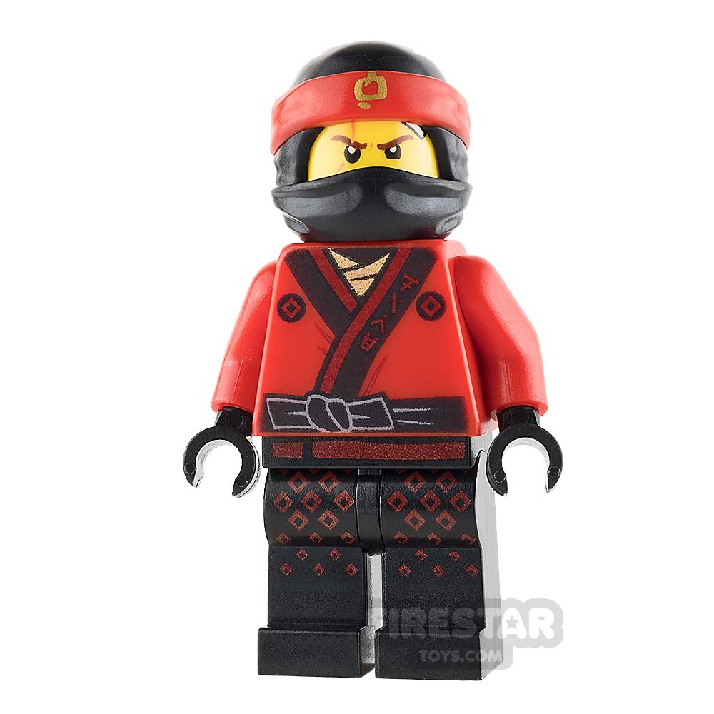 LEGO Ninjago Mini Figure - Kai - Fire Mech Driver