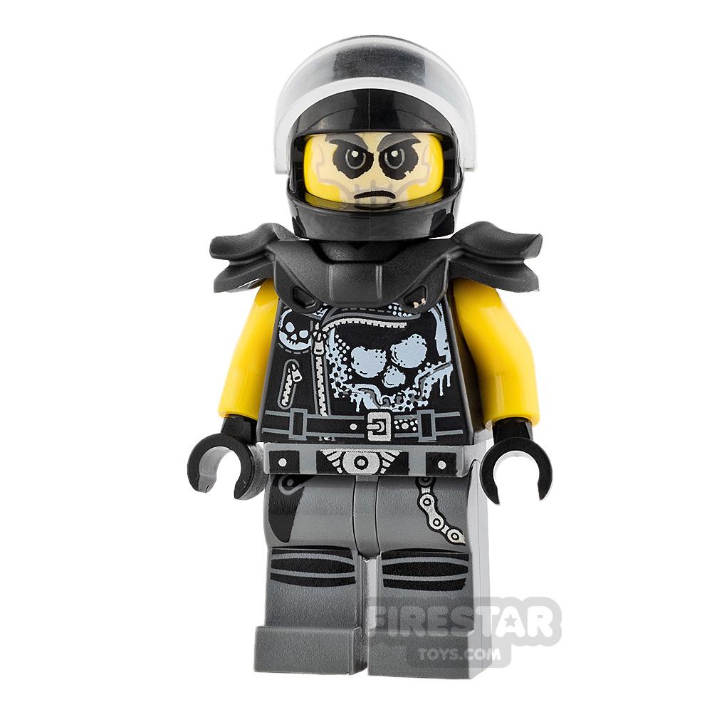 LEGO Ninjago Mini Figure - Chopper Maroon - Shoulder Pads