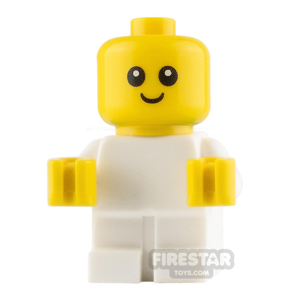 LEGO Ninjago Mini Figure - Baby - White Babygrow