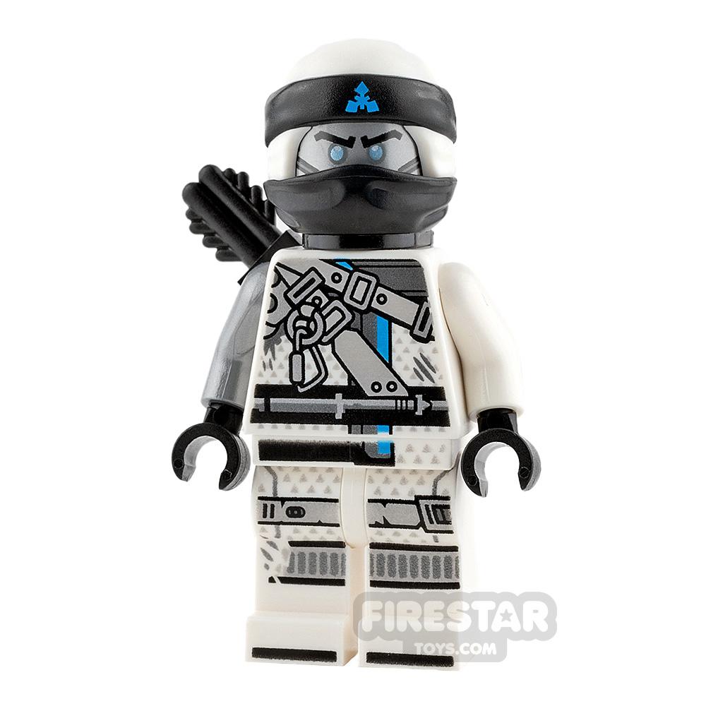 LEGO Ninjago Mini Figure - Zane - Hunted