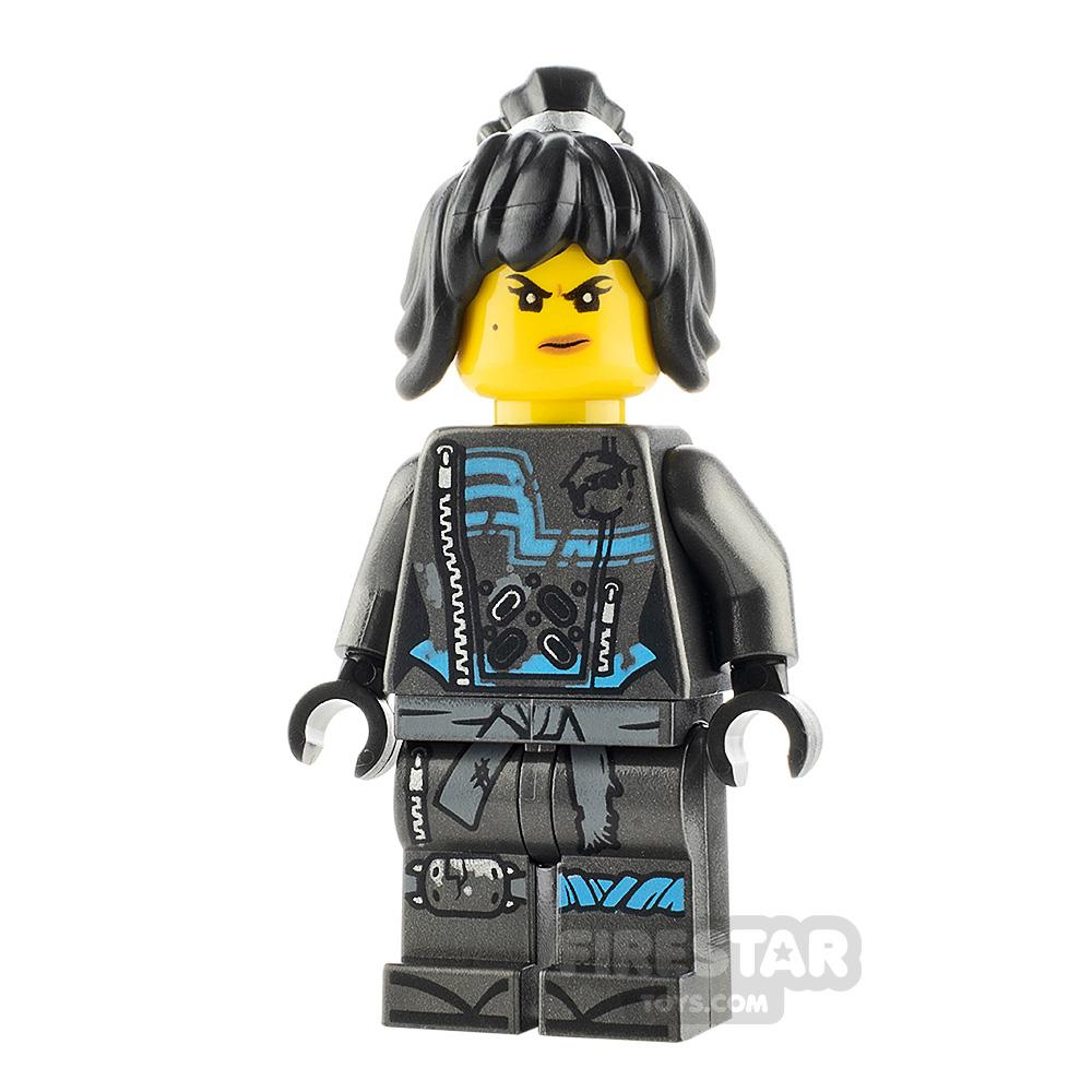 LEGO Ninjago Minifigure Nya Hunted with Hair