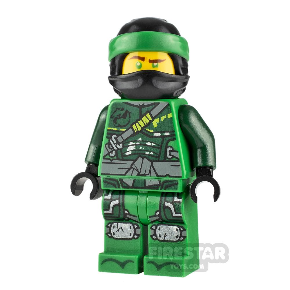 LEGO Ninjago Minifigure Lloyd Hunted Green Wrap