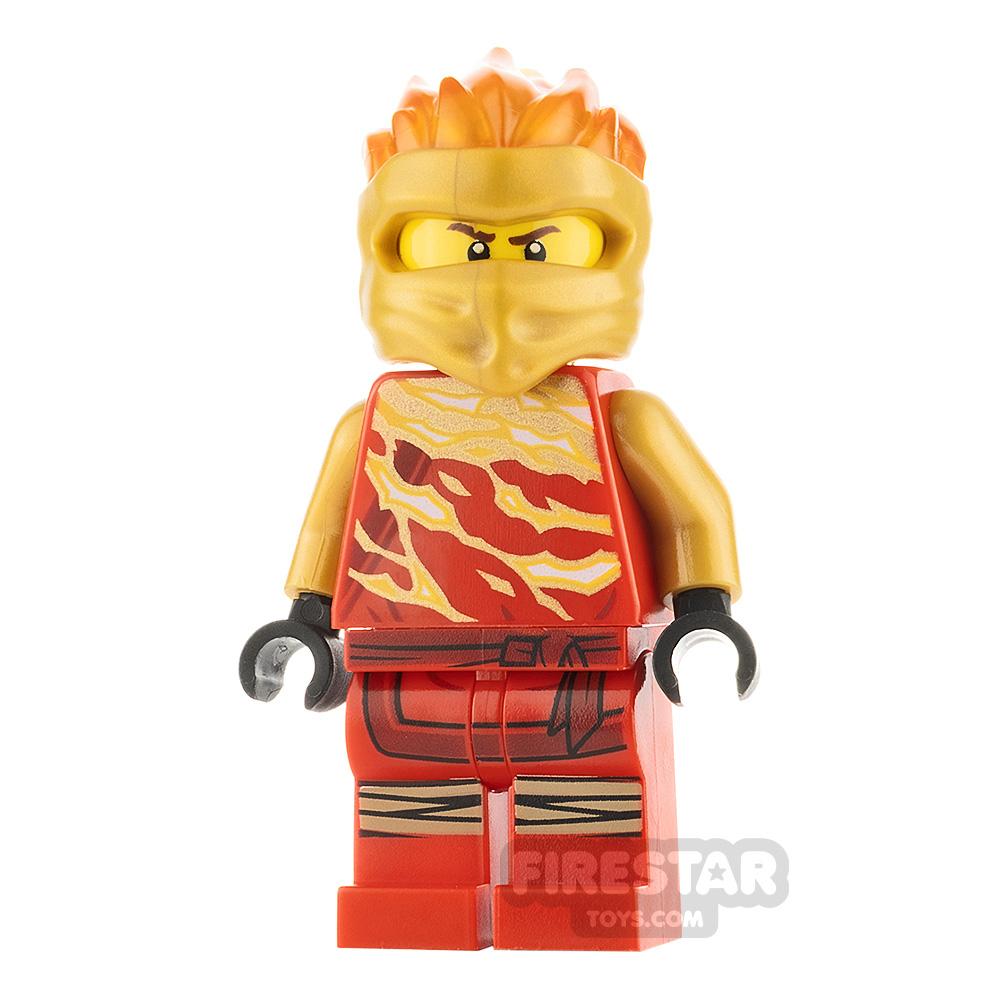 LEGO Ninjago Minifigure Kai Forbidden Spinjitzu Slam