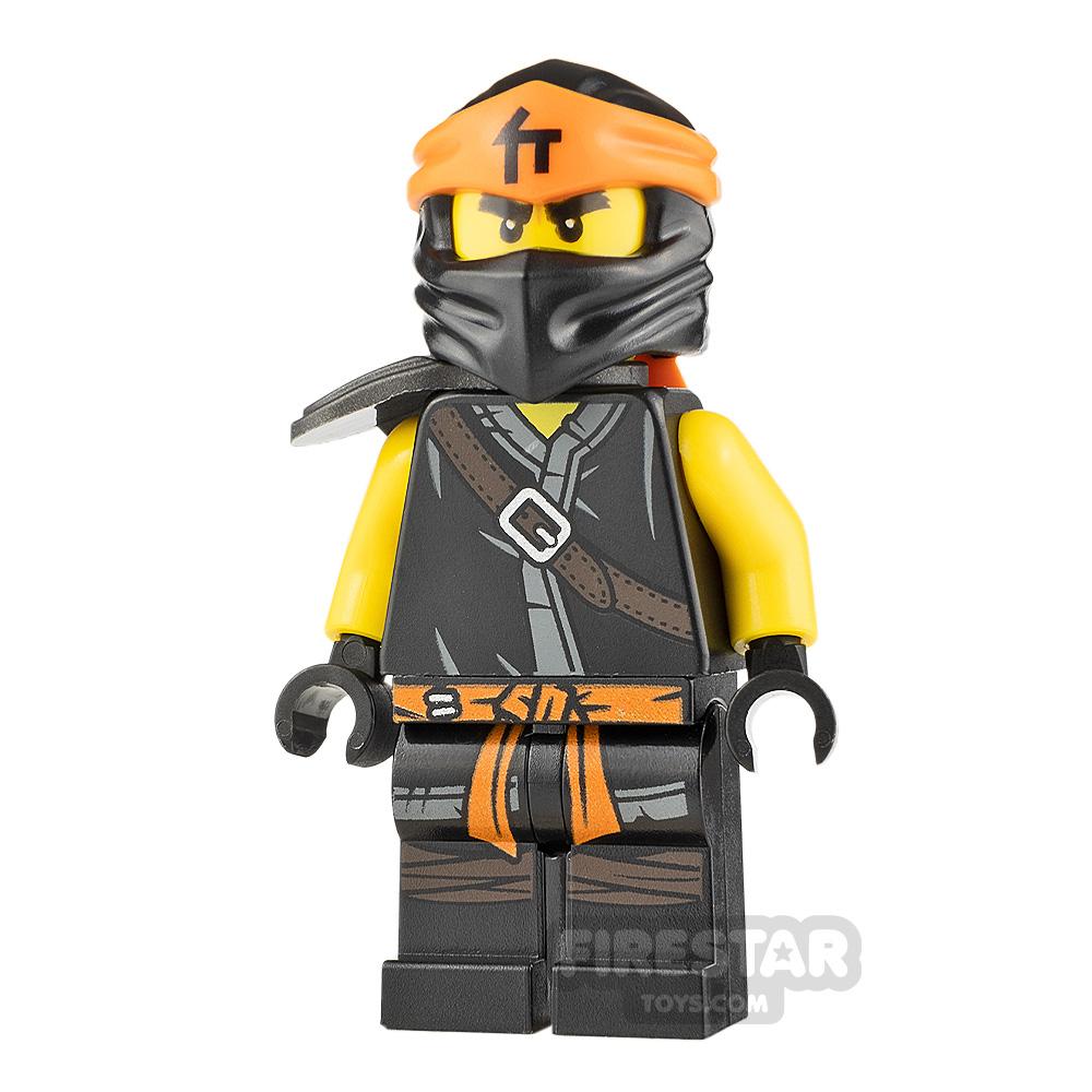 LEGO Ninjago Minifigure Cole Forbidden Spinjitzu