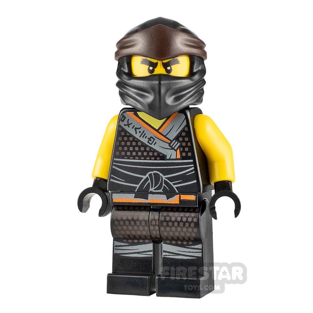 LEGO Ninjago Minifigure Cole Legacy Garmadon Robe