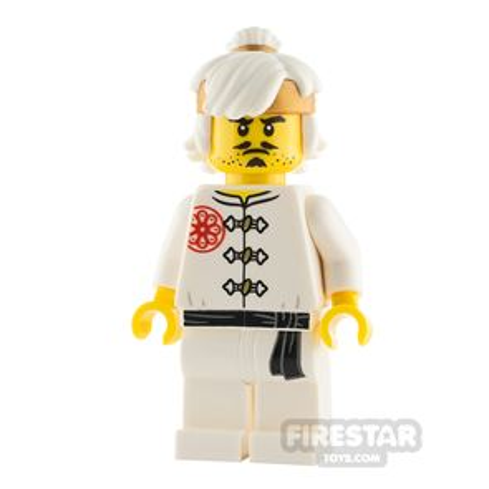 LEGO Ninjago Minifigure Teen Wu White Training Gi