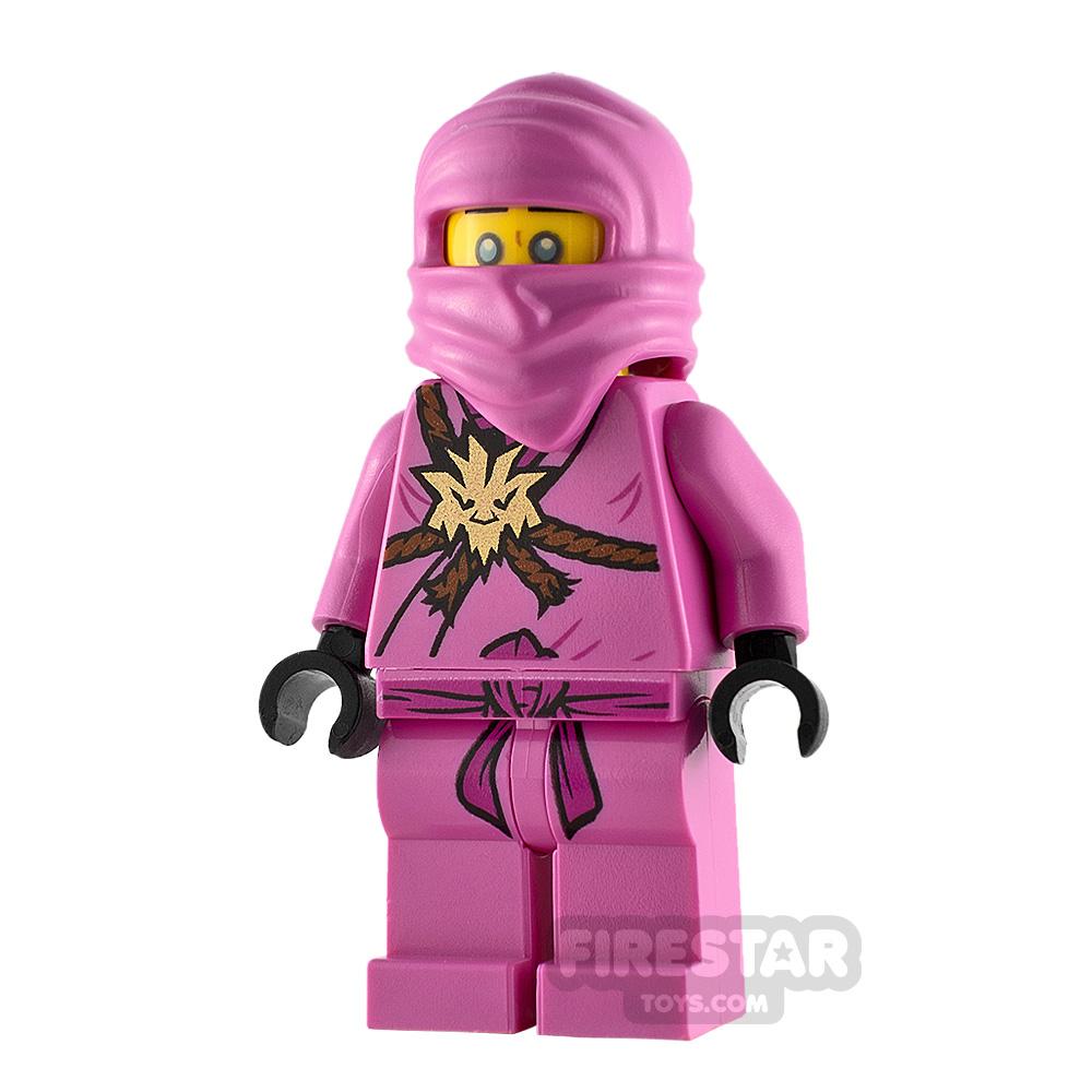 LEGO Ninjago Minifigure Avatar Pink Zane