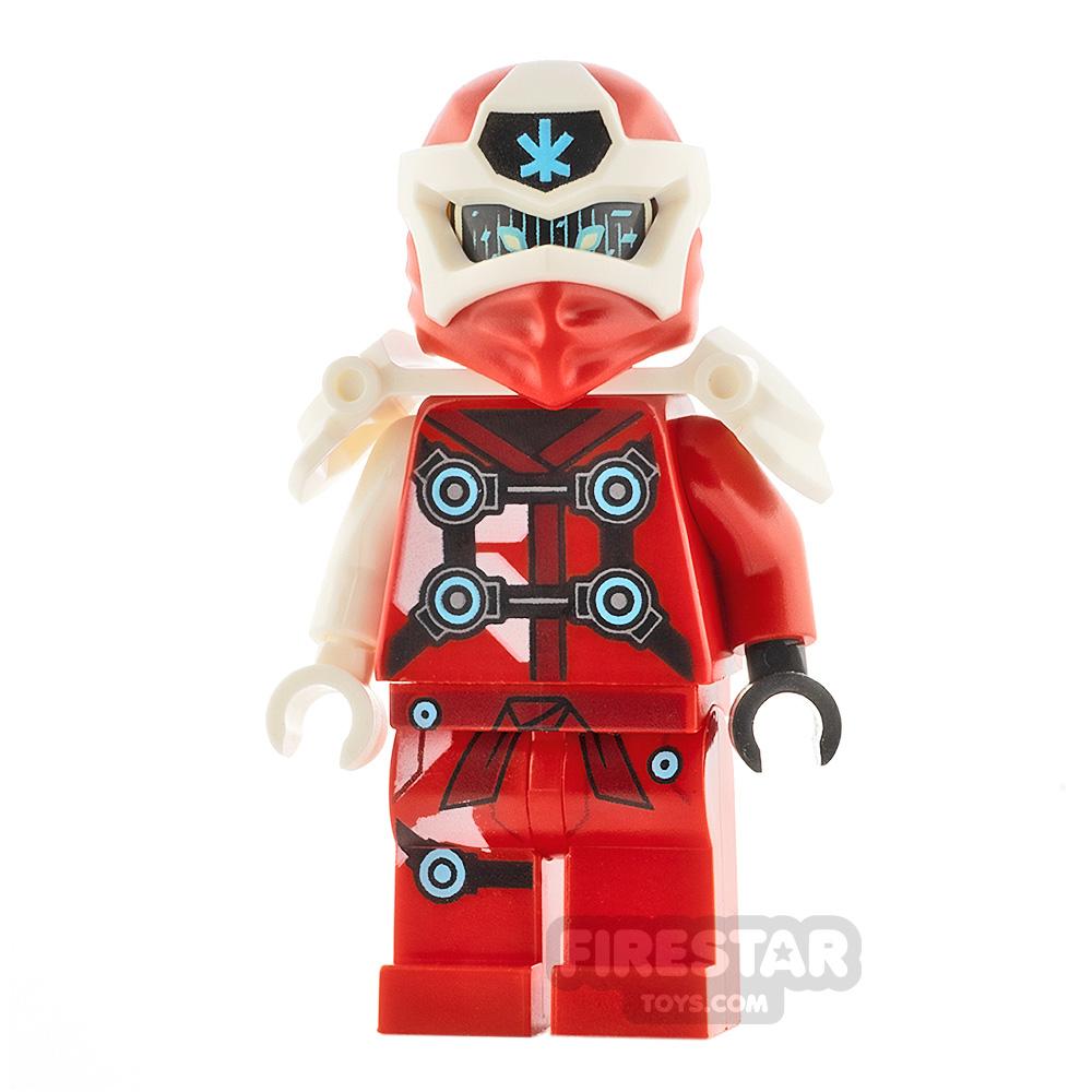 LEGO Ninjago Minifigure Digi Kai with Shoulder Armour