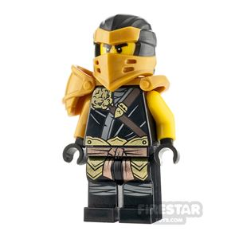 LEGO Ninjago Minifigure Hero Cole with Clip