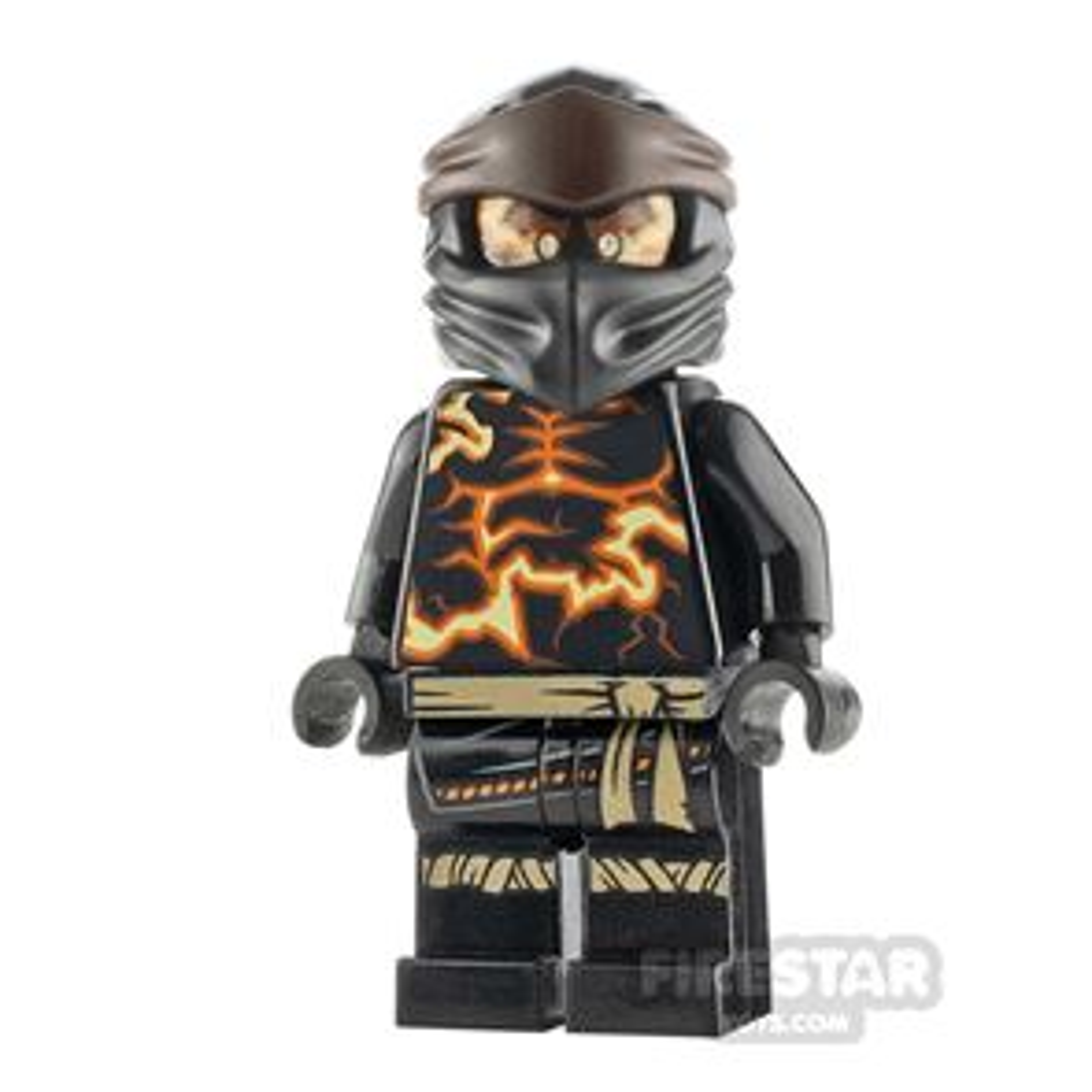 LEGO Ninjago Minifigure Cole Spinjitzu Burst
