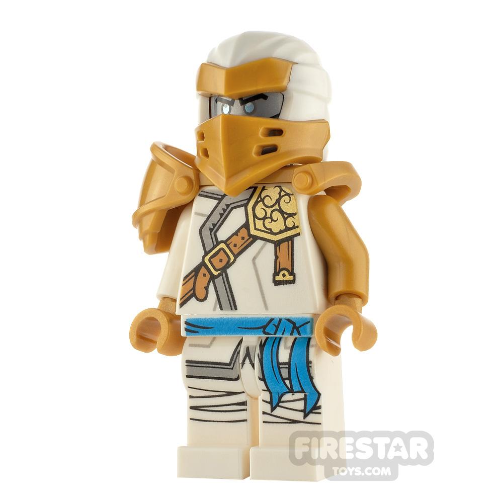 LEGO Ninjago Minifigure Hero Zane With Clip