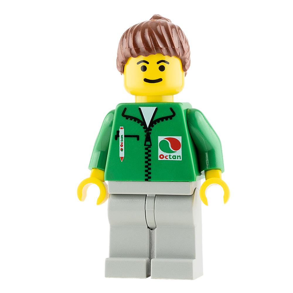 LEGO City Minifigure Octan