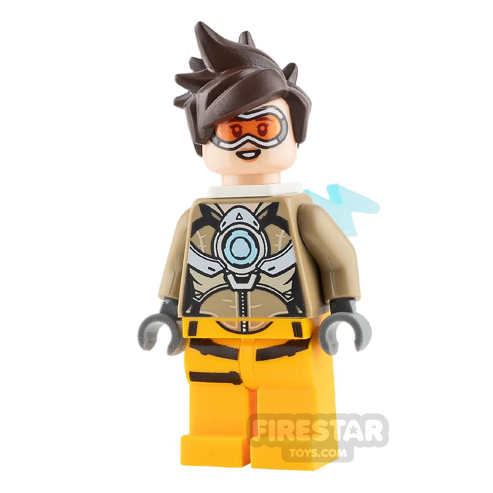 LEGO Overwatch Minifigure Tracer