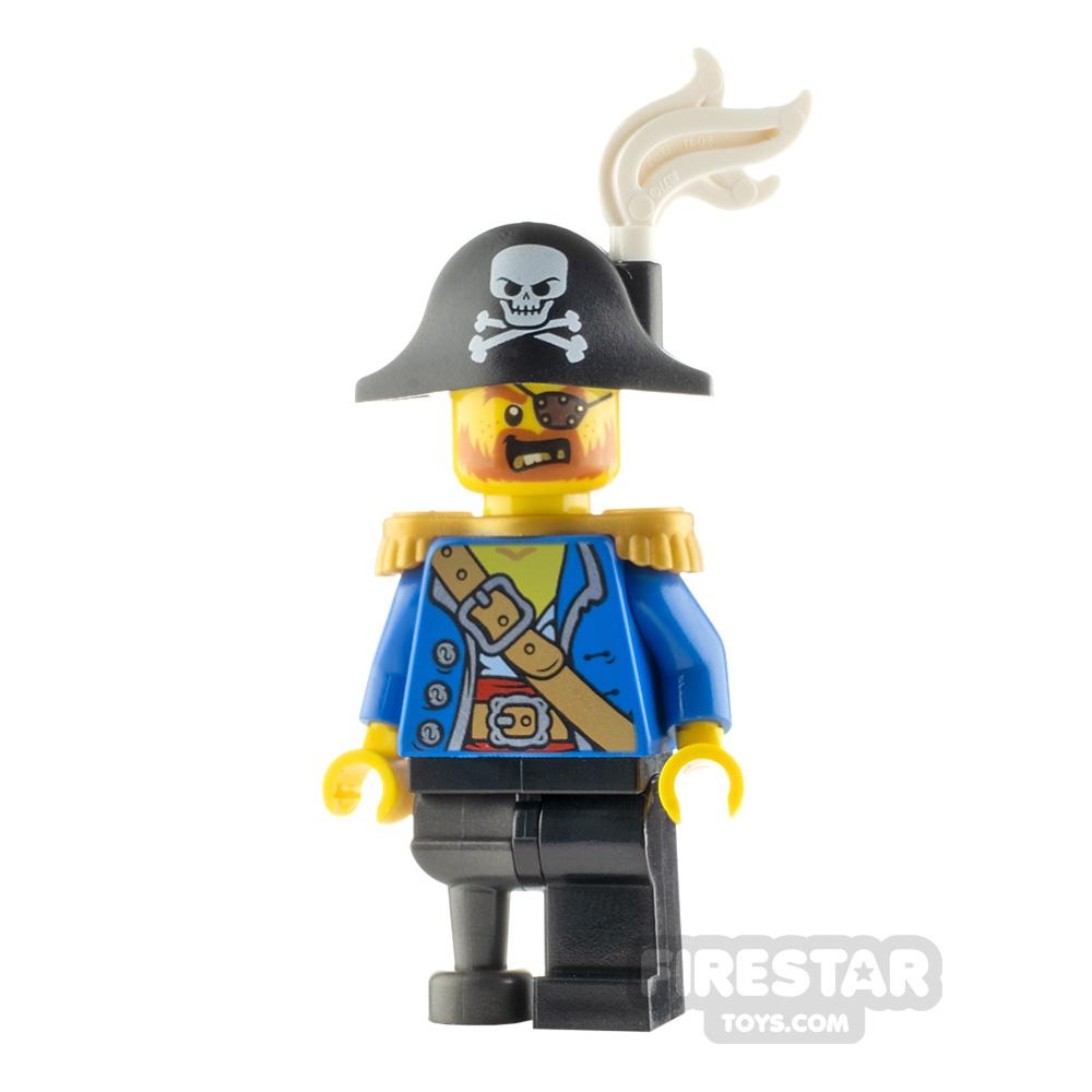 LEGO Pirate Minifigure Pirate Captain