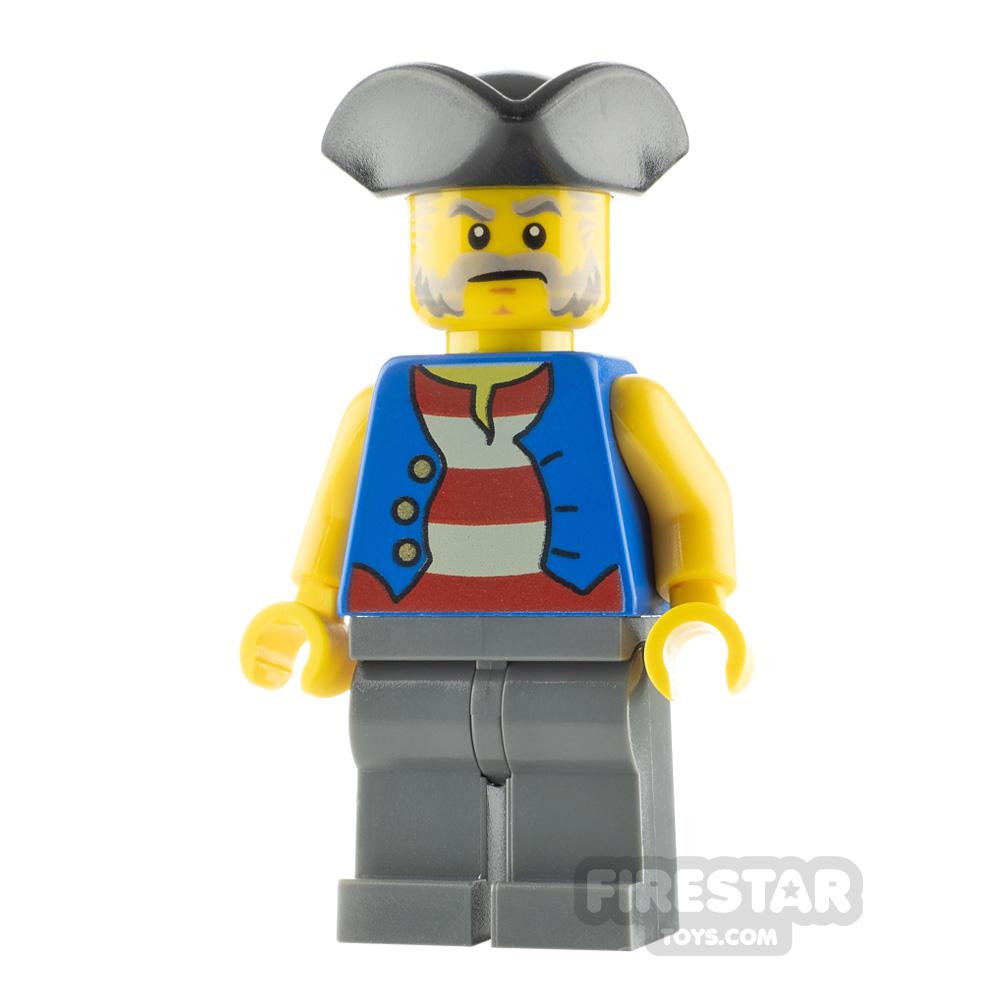 LEGO Pirate Minifigure Pirate Blue Vest