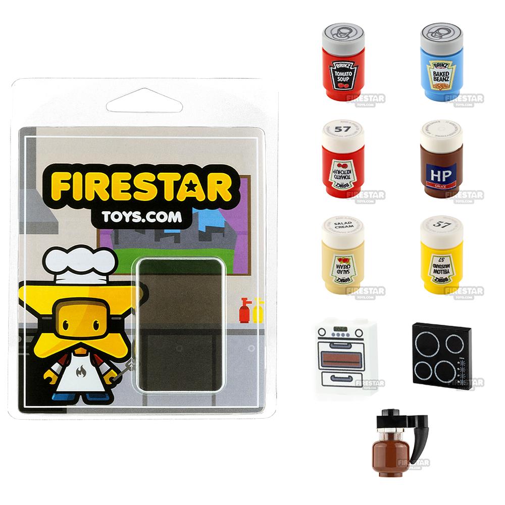 Kitchen Pack - Set of 9 Kitchen Accessories