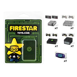 Retro Gaming Pack - Set of 5 Gaming Accessories