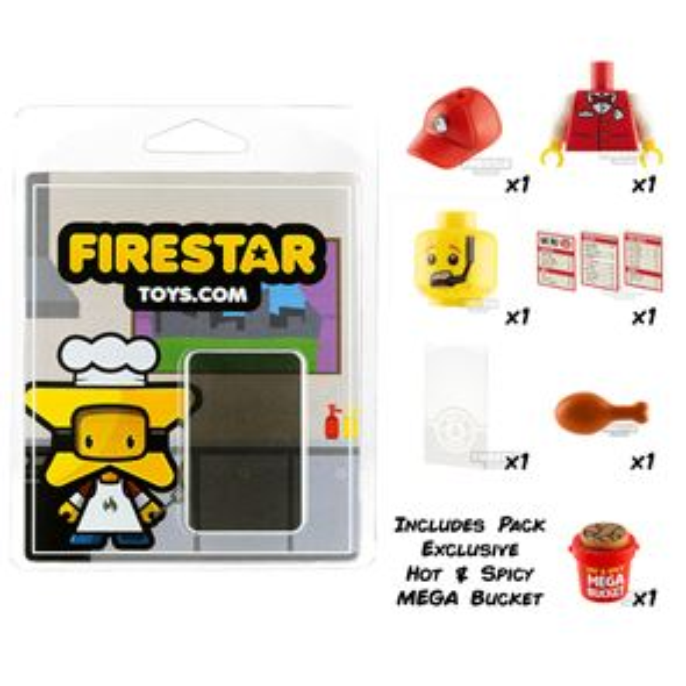 Brick'n Chicken Pack - Set of 9 Chicken Shop Accessories