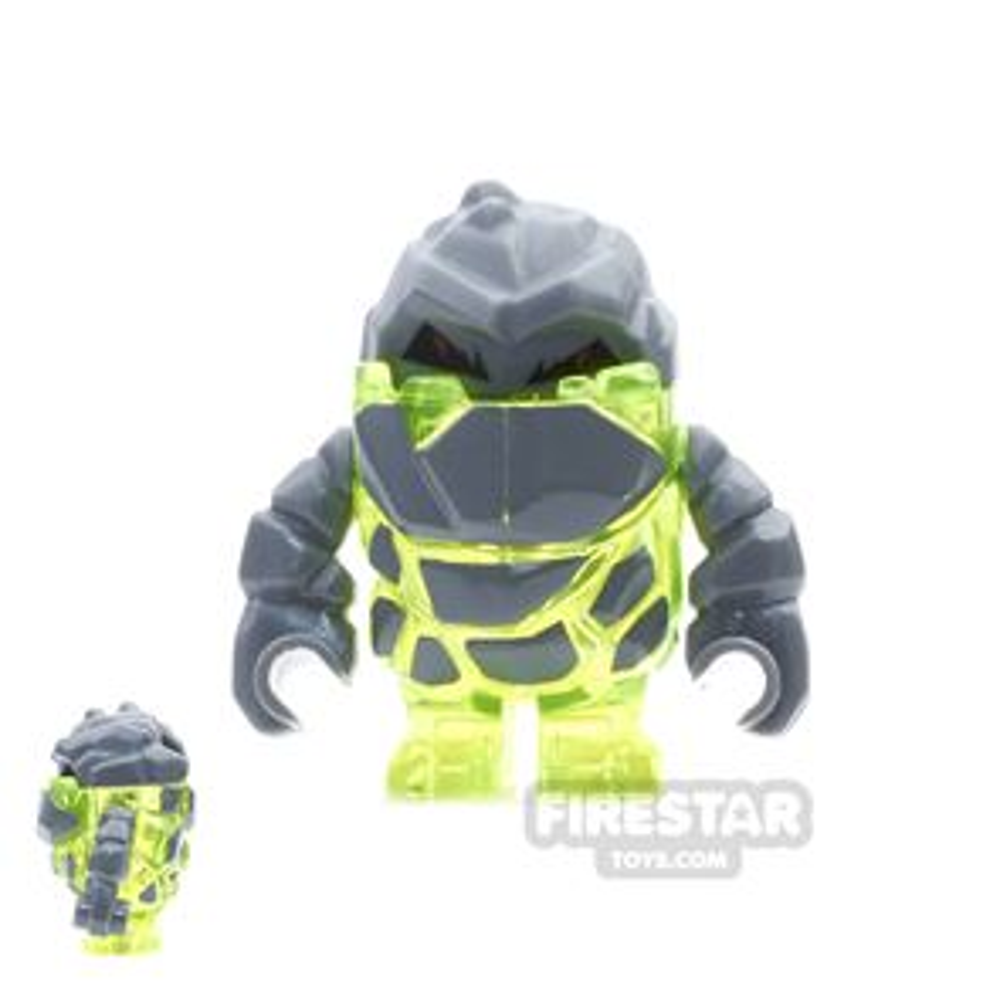 LEGO Power Miners Mini Figure - Rock Monster - Sulfurix