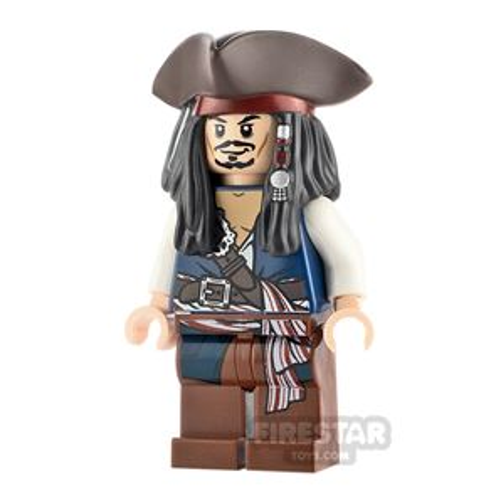 LEGO Pirates Of The Caribbean Minifigure Captain Jack Sparrow