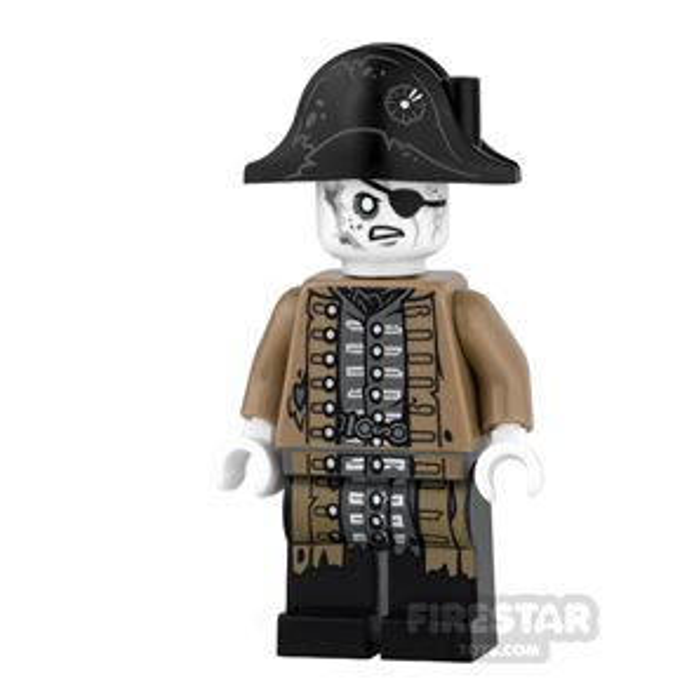 LEGO Pirates Of The Caribbean Mini Figure - Lieutenant Lesaro