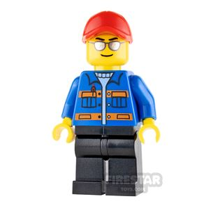 LEGO Speed Champions Blue Jacket and Sunglasses