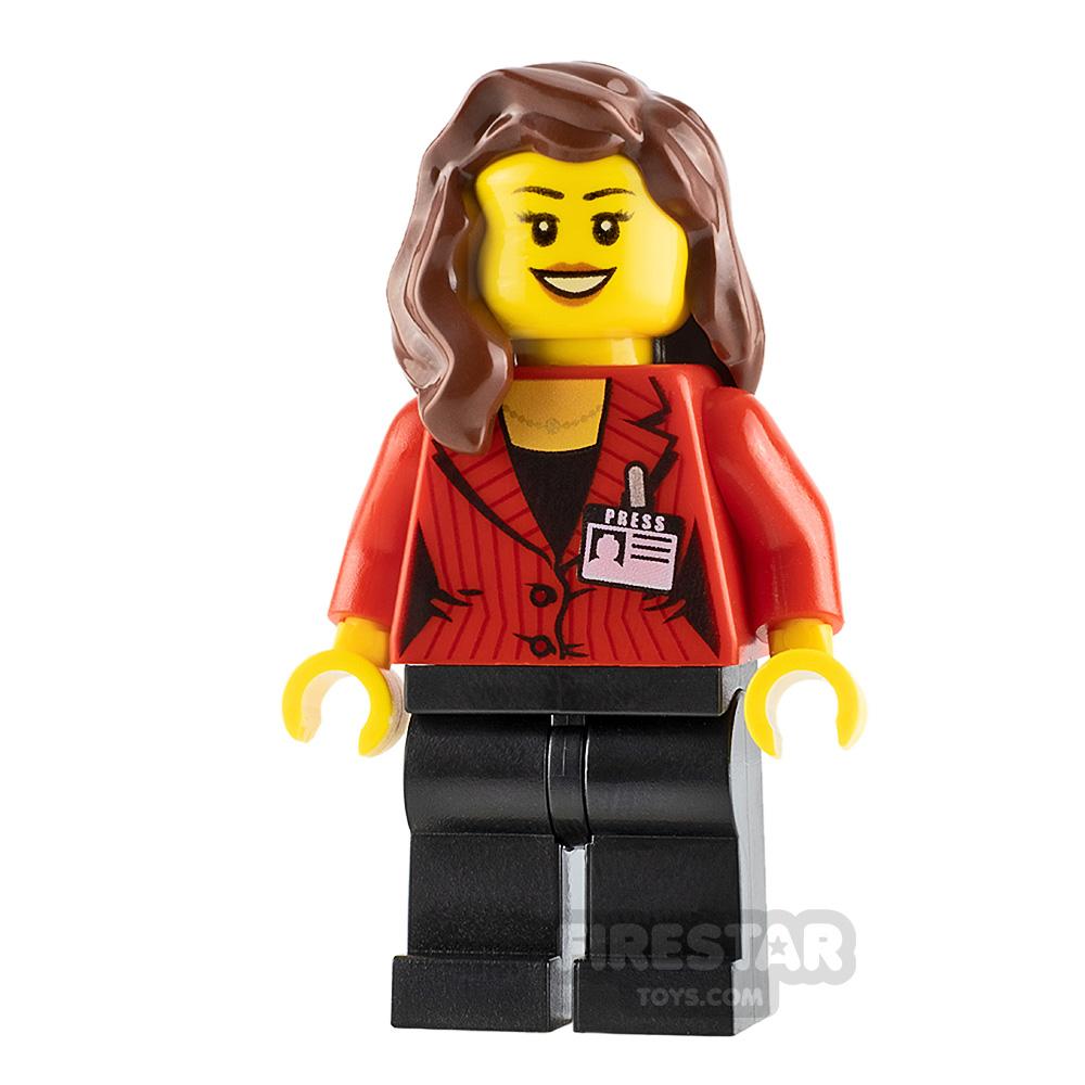 LEGO Speed Champions Press Reporter