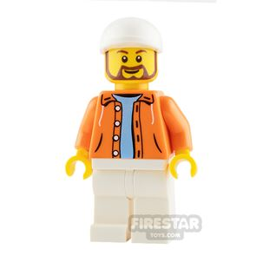 LEGO Speed Champions Minifigure Hot Dog Vendor