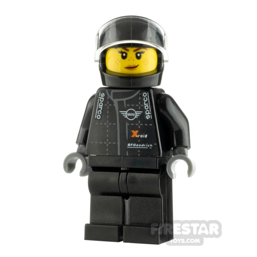 LEGO Speed Champions Minifigure MINI Cooper Buggy Driver