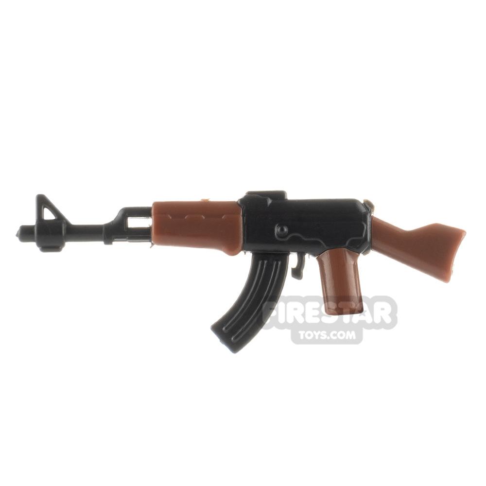 SI-DAN - AK47 - Black and Brown/Gold