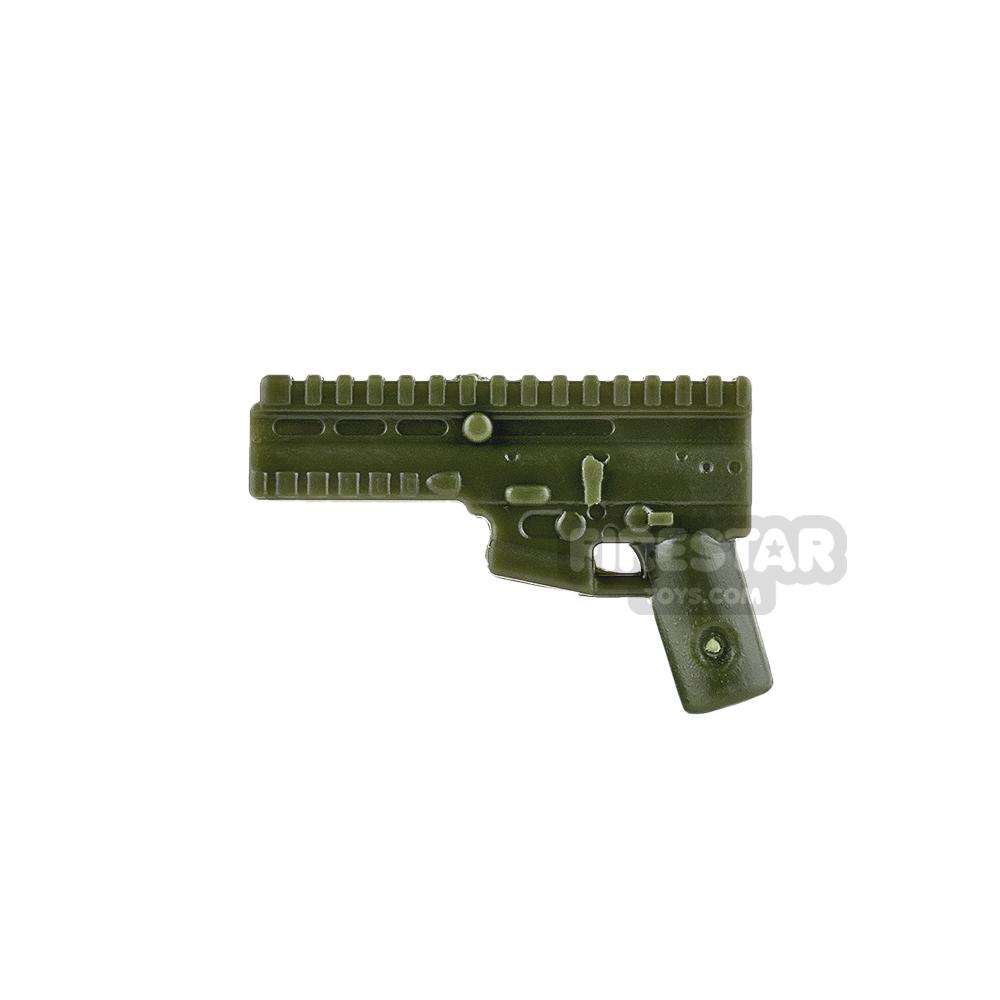 SI-DAN System - SCAR Gun Body - Tank Green