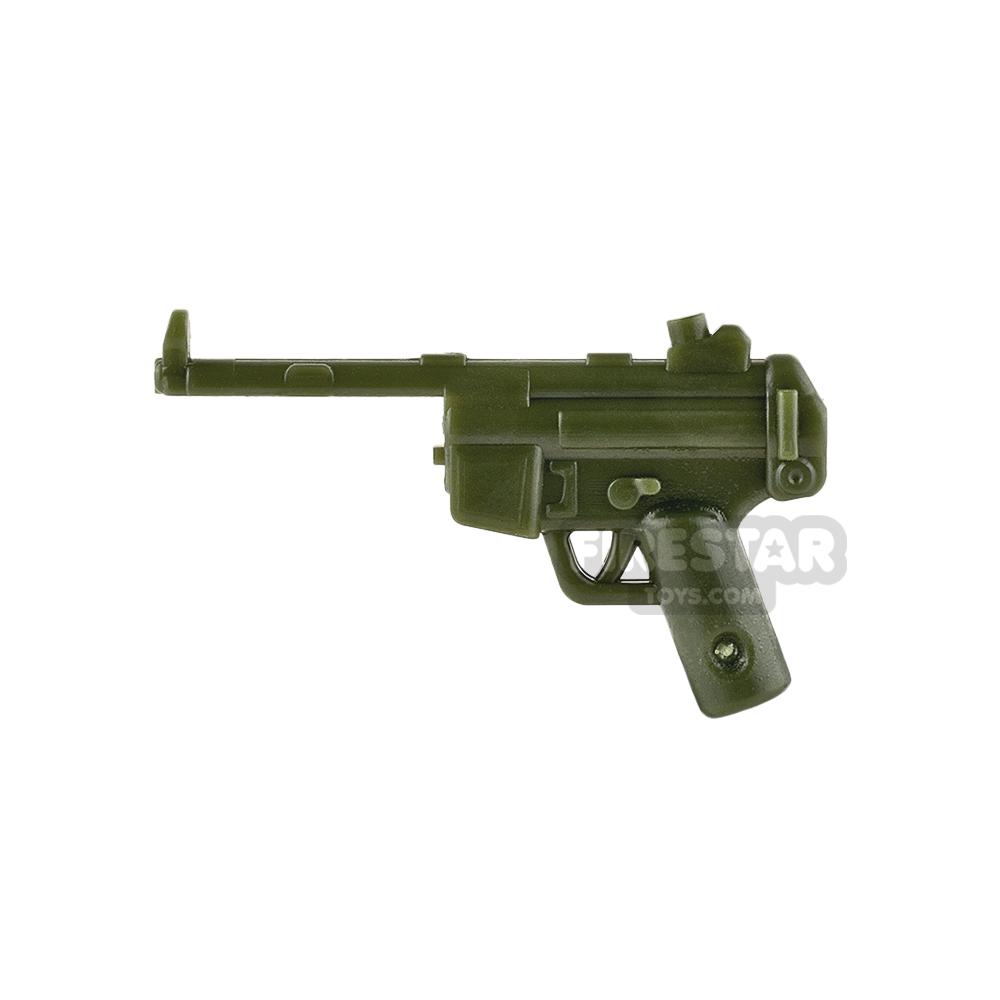SI-DAN System - MP5X Gun Body - Tank Green