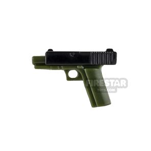 SI-DAN System - SGX17 Movable Slider - Tank Green and Black