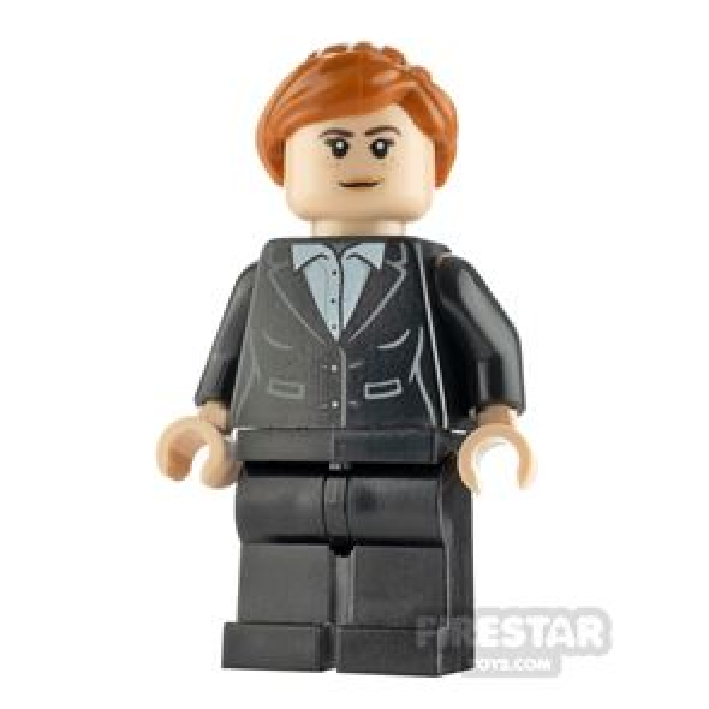 LEGO Super Heroes Minifigure Pepper Potts Black Suit