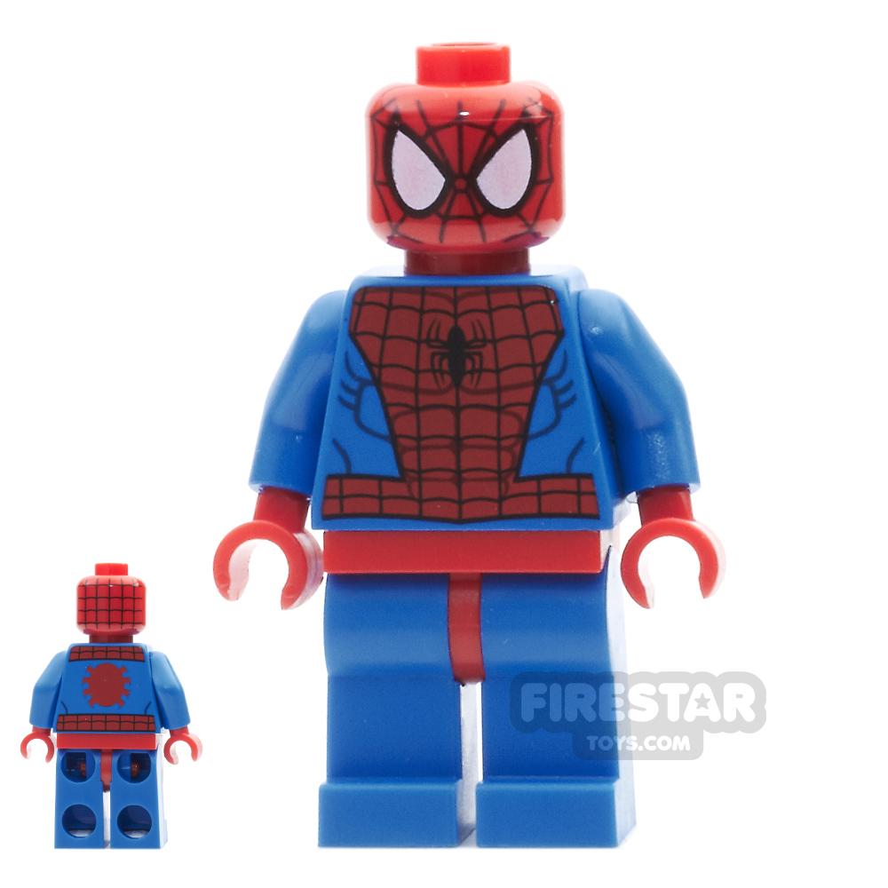 LEGO Super Heroes Mini Figure - Spiderman - Red Hips