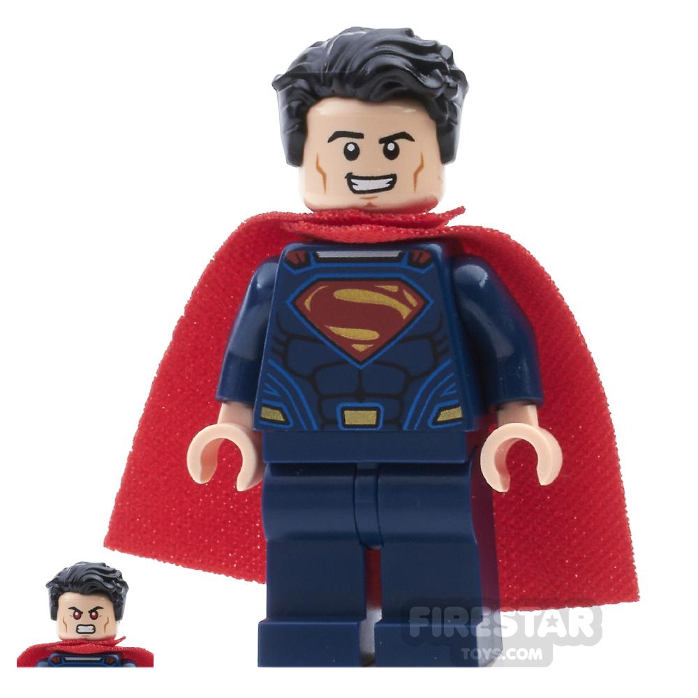 LEGO Super Heroes Mini Figure - Superman Swept Hair
