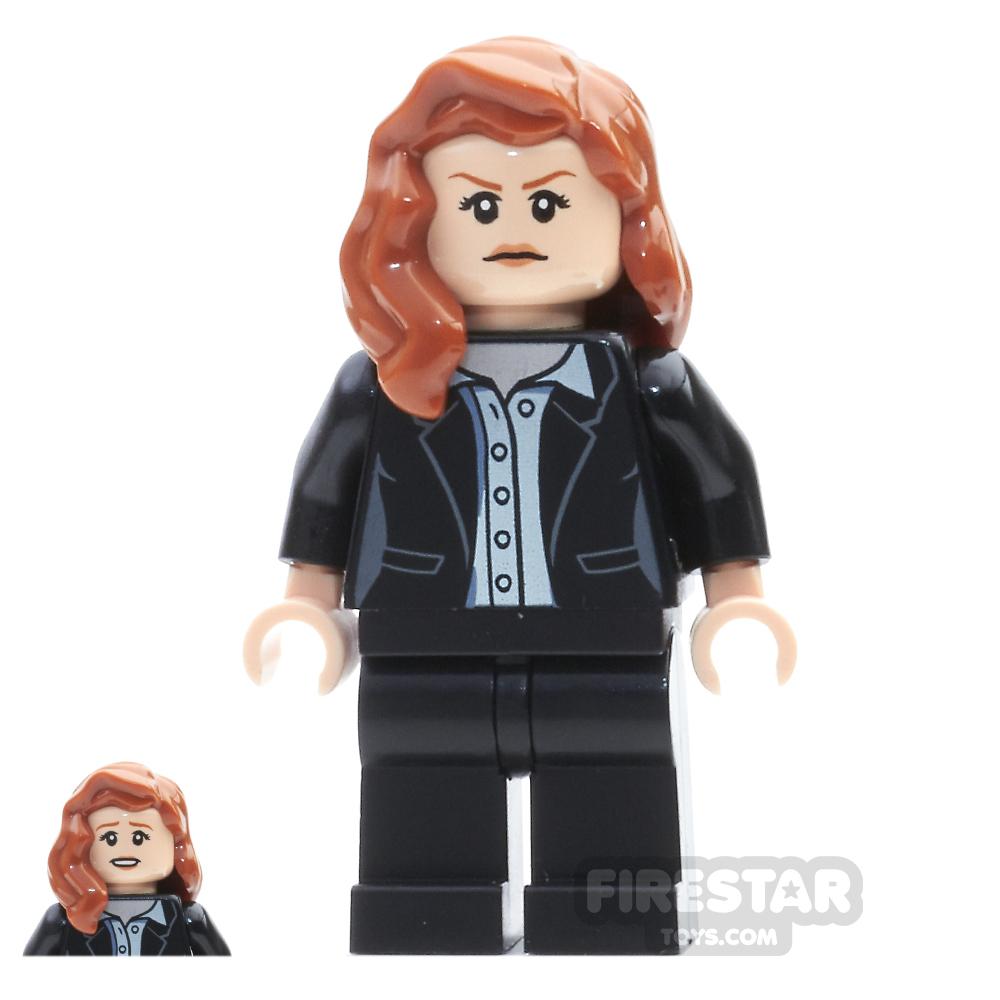 LEGO Super Heroes Mini Figure - Lois Lane - Black Suit
