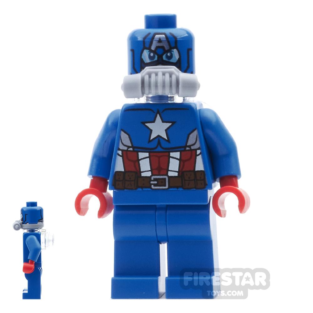 LEGO Super Heroes Mini Figure - Space Captain America