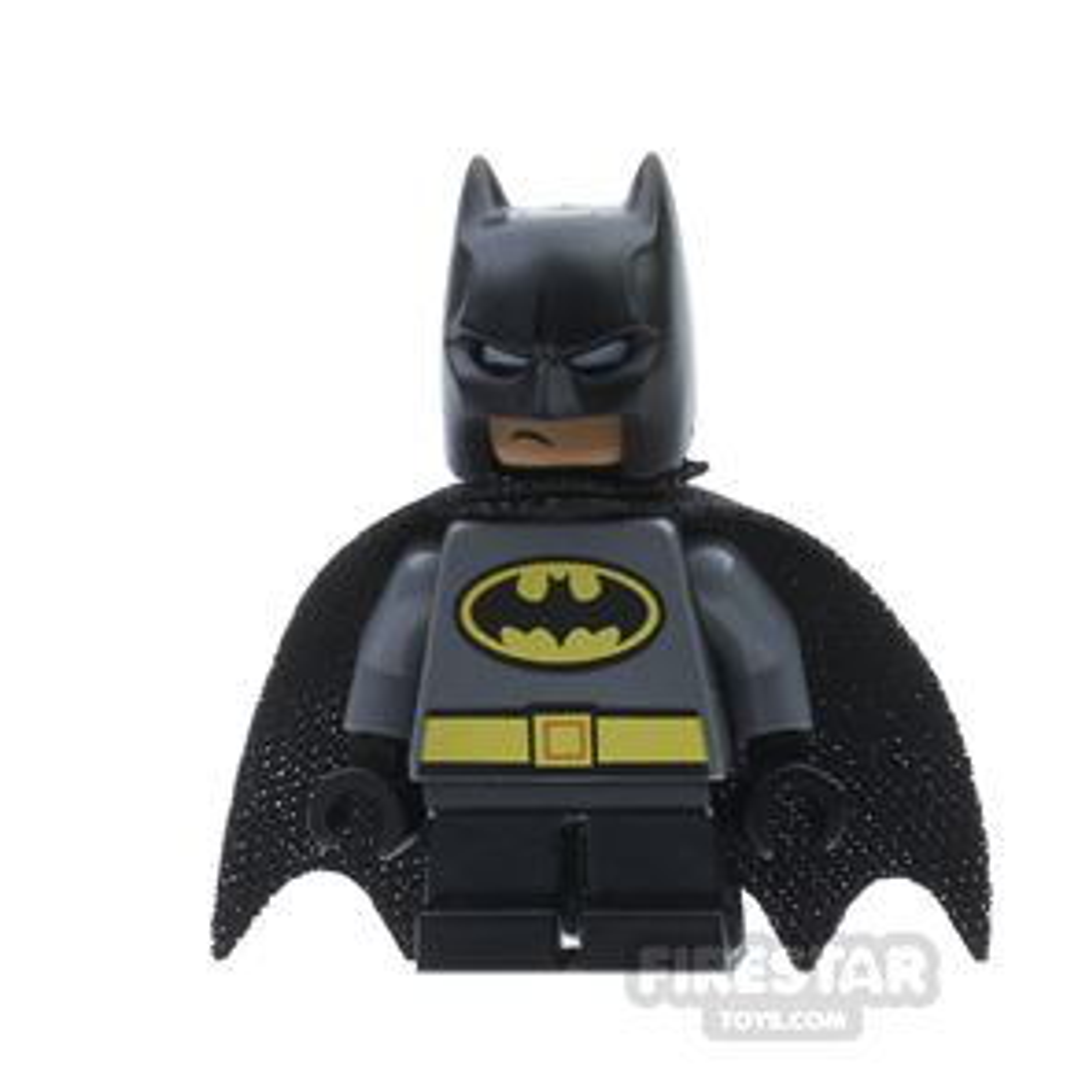LEGO Super Heroes Mini Figure - Batman - Short Legs - Gray Suit