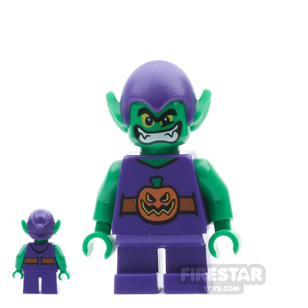 LEGO Super Heroes Mini Figure - Green Goblin - Short Legs