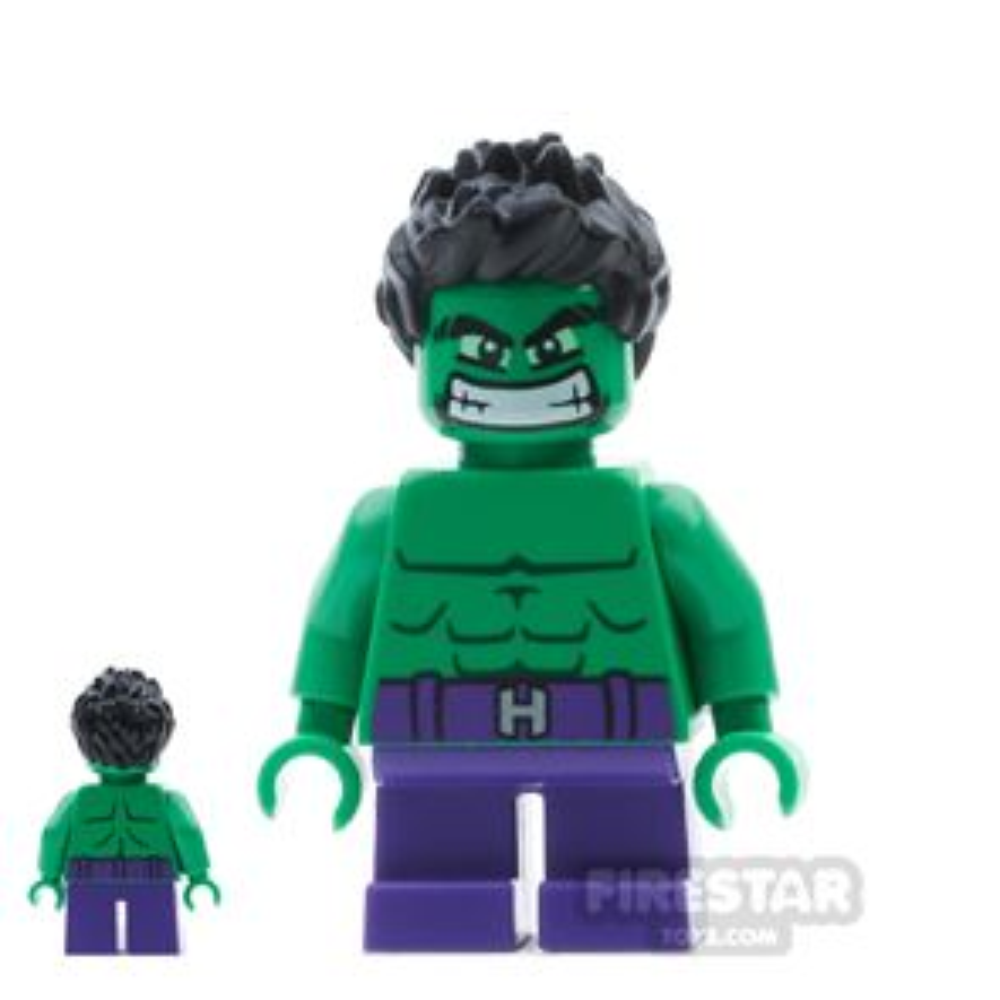 LEGO Super Heroes Mini Figure - Hulk - Short Legs