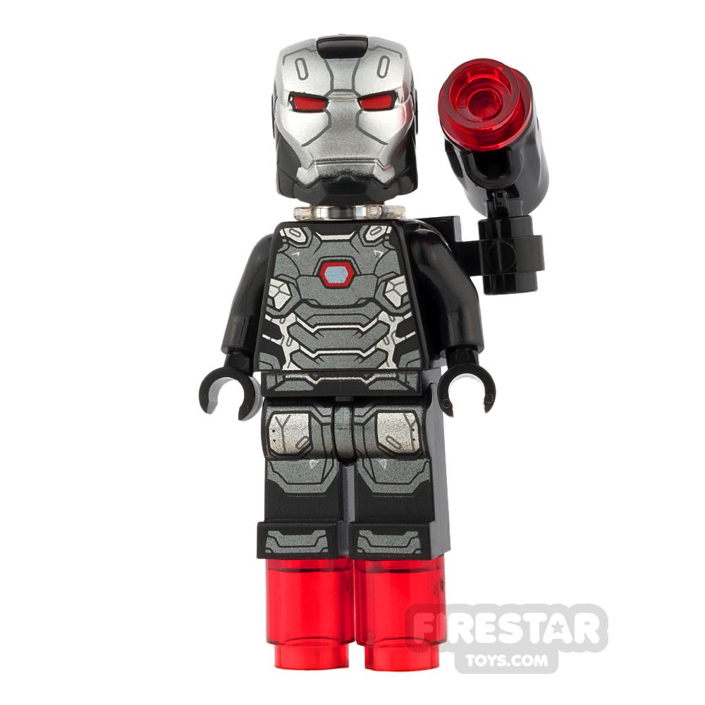 LEGO Super Heroes Mini Figure - War Machine - with Shooter