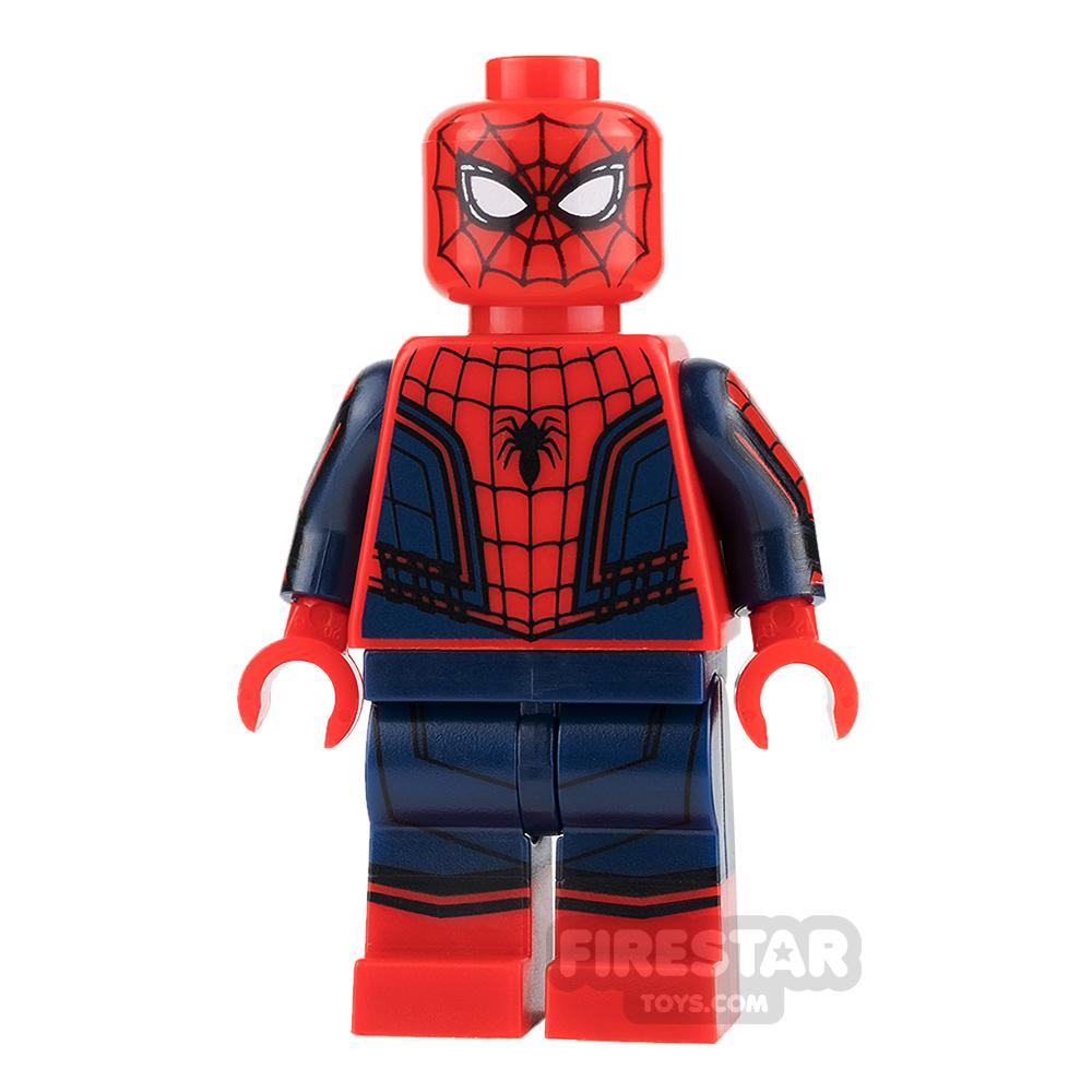 LEGO Super Heroes Mini Figure - Spiderman - Dark Blue and Red Suit